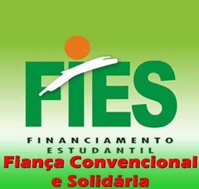 fies fianca Fies Fiança Convencional e Solidária